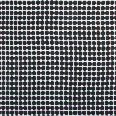 B9440 Ebony/Ivory Fabric: E31, CHUNKY DOT, POLKA DOT, WOVEN DOT, TEXTURED DOT, BLACK AND WHITE DOT, TEXTURED POLKA DOT