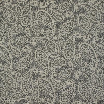 B9459 Black Tan Fabric: E31, LARGE SCALE PAISLEY, PAISLEY, BLACK, ONYX, MIDNIGHT