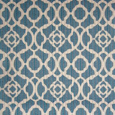 B9477 Batik Blue Fabric: E32, BLUE MEDALLION, BLUE GEOMETRIC, WOVEN GEOMETRIC