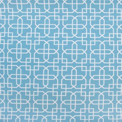 B9525 Capri Fabric: E33, LIGHT BLUE GEOMETRIC, CHAIR SCALE GEOMETRIC, LATTICE GEOMETRIC