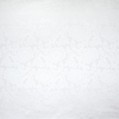 B9557 Snow Fabric: E34, FLORAL DAMASK, WHITE DAMASK, SCROLL DAMASK, WHITE FLORAL
