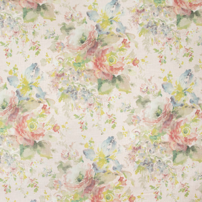 B9590 Pink Fabric: S14, E35, FLORAL PRINT, PINK FLORAL PRINT, LINEN PRINT, LIGHT PINK FLORAL, BLUSH FLORAL