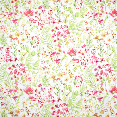 B9599 Fruit Punch Fabric: E38, E35, FLORAL PRINT, PINK FLORAL PRINT, COTTON PRINT, BRIGHT PINK FLORAL PRINT