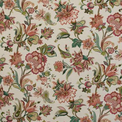 B9621 Geranium Fabric: E36, RED FLORAL PRINT, LARGE SCALE FLORAL, POPPY, GERANIUM