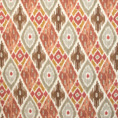 B9623 Nude Fabric: E36, LARGE SCALE PRINT, LARGE SCALE IKAT, SOUTHWEST IKAT, ROSE, BLUSH, RED IKAT, DIAMOND, GEOMETRIC