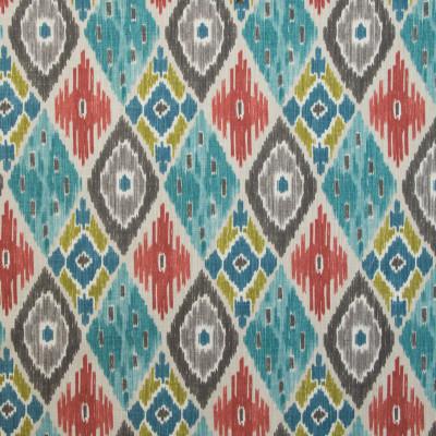 B9624 Fiesta Fabric: E36, LARGE SCALE PRINT, LARGE SCALE IKAT, SOUTHWEST, TEAL, TURQUOISE, AQUA, SPA