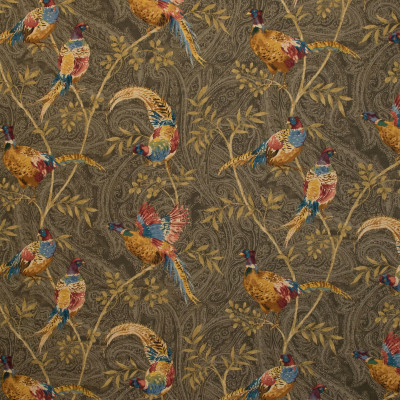 B9629 Heritage Fabric: S05, E36, ANIMAL PRINT, PAISLEY PRINT, COTTON PRINT, PHEASANT PRINT, BIRD PRINT, LARGE SCALE ANIMAL PRINT, LARGE SCALE PAISLEY PRINT, ANNA ELISABETH