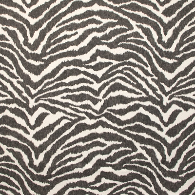 B9632 Pepper Fabric: E36, GRAY ANIMAL SKIN, GREY ANIMAL SKIN, CHARCOAL, LARGE SCALE ANIMAL SKIN, TIGER SKIN, TIGER PRINT, TIGER PATTERN