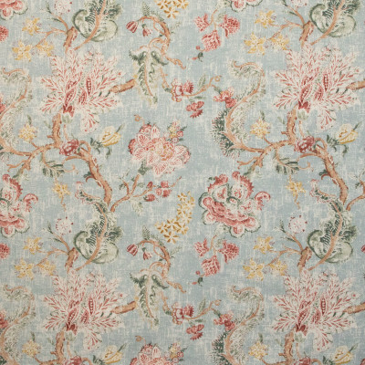 B9634 Chianti Fabric: E36, LARGE SCALE FLORAL PRINT, BLUE FLORAL PRINT, PINK FLORAL PRINT, MULTICOLORED FLORAL PRINT, SPA COLORED PRINT, LIGHT BLUE FLORAL