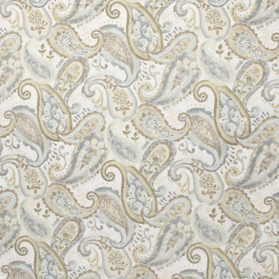 B9651 River Rock Fabric: E37, NEUTRAL PAISLEY, GRAY PAISLEY PRINT, NEUTRAL PAISLEY PRINT, NEUTRAL FLORAL PRINT, SCROLL, WHIMSICAL PRINT