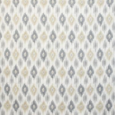 B9653 Sandstone Fabric: E37, GRAY DIAMOND PRINT, GREY DIAMOND PRINT, IKAT DIAMOND PRINT, IKAT GEOMETRIC PRINT, GRAY DIAMOND, GREY SOUTHWEST PRINT