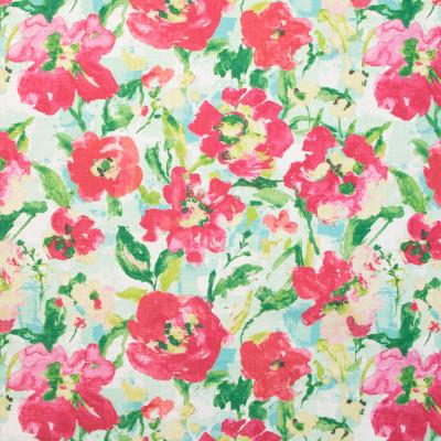 B9688 Blush Fabric: E38, PINK FLORAL PRINT, COTTON PRINT, LARGE SCALE FLORAL PRINT
