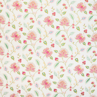 B9702 Blush Fabric: E38, PINK FLORAL EMBROIDERY, TEAL FLORAL EMBROIDERY, AQUA FLORAL EMBROIDERY