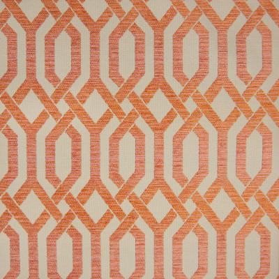 B9830 Tigerlilly Fabric: E41, GEOMETRIC ORANGE, ORANGE GEOMETRIC, LATTICE, LARGE SCALE GEOMETRIC, CLEMENTINE, TANGERINE, OMBRE, CITRUS