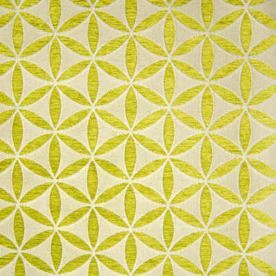B9872 Apple Fabric: E41, YELLOW GREEN FLORAL, CITRINE FLORAL, CITRINE GEOMETRIC, LARGE SCALE GEOMETRIC, CHENILLE, LARGE SCALE FLORAL