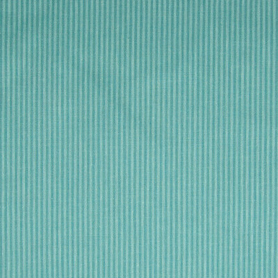 F1095 Teal Fabric: E43, PINSTRIPE, WOVEN STRIPE, TEAL STRIPE, THIN STRIPE, AQUA STRIPE
