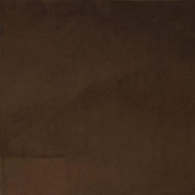 F1155 Chocolate Fabric: E50, BROWN VELVET, SOLID VELVET, PLUSH VELVET, RICH VELVET, TEXTURED VELVET