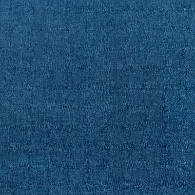 F1234 Sapphire Fabric: E53, ROYAL BLUE CHENILLE, OCEAN BLUE, ROYAL, TEXTURED CHENILLE