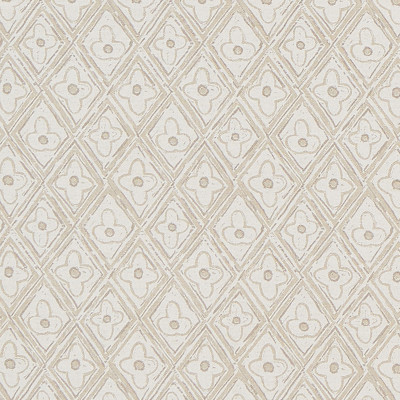 F1257 Natural Fabric: E54, SMALL SCALE DIAMOND, SMALL GEOMETRIC, NEUTRAL DIAMOND PRINT, NEUTRAL GEOMETRIC, PRINT, FLORAL PRINT
