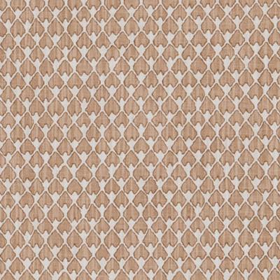 F1262 Camel Fabric: E54, GEOMETRIC, SMALL-SCALE, BROWN, COTTON, COTTON PRINT, 100% COTTON, MADE IN USA, PRINT