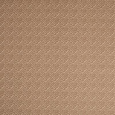 F1267 Cedar Fabric: E54, NEUTRAL GREEK KEY, GEOMETRIC GREEK KEY, GEOMETRIC PRINT, GREEK KEY PRINT, NEUTRAL, BEIGE, BROWN