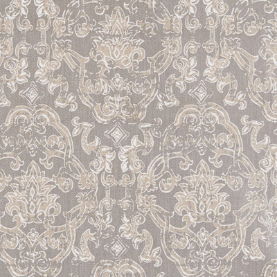 F1278 Champagne Fabric: E54, MEDALLION, METALLIC, SILVER, CHAMPAGNE, COTTON, COTTON PRINT, 100% COTTON, MADE IN USA, PRINT