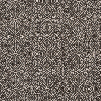 F1289 Grey Fabric: E54, GEOMETRIC, GLOBAL, AZTEC, GRAY, NATURAL, MADE IN USA, PRINT, MEDALLION