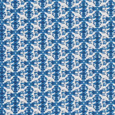 F1320 Pacific Fabric: E55, CONTEMPORARY IKAT, SHIBORI, SHIBORI INSPIRED, SHIBORI STRIPE, BLUE AND WHITE PRINT, COTTON PRINT, JAPANESE INSPIRED