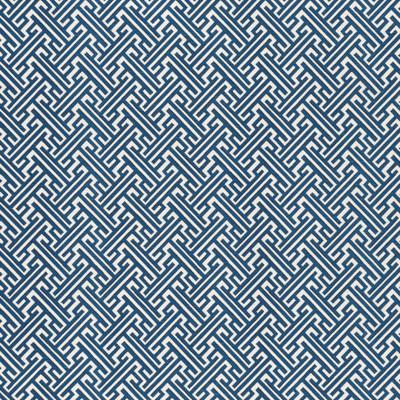 F1321 Cobalt Fabric: E55, GREEK KEY, GREEK KEY COTTON PRINT, MEDIUM SCALE DIAMOND, DIAMOND PRINT, DIAMOND COTTON PRINT, BLUE AND WHITE COTTON PRINT, COBALT, NAVY
