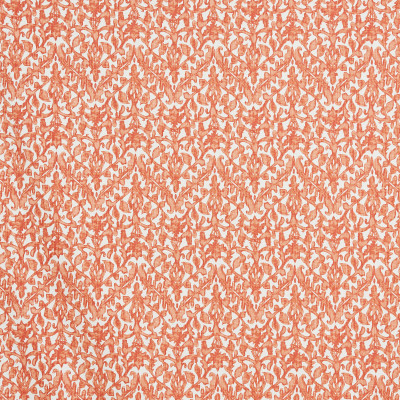 F1346 Coral Fabric: E55, FLORAL PRINT, SHRIMP COLORED FLORAL, CHEVRON FLORAL, LARGE SCALE CHEVRON, LARGE SCALE FLORAL, COTTON PRINT, COASTAL PRINT, COASTAL INSPIRED
