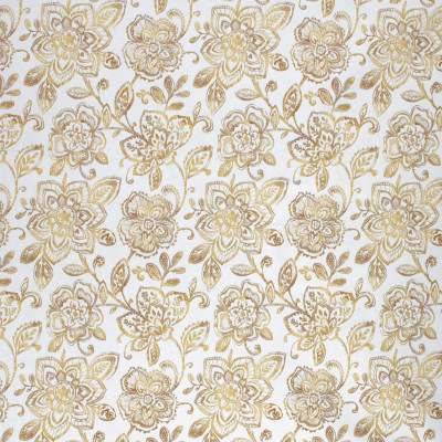 F1424 Golden Fabric: E57, GOLD FLORAL, FLORAL, GOLD, GOLD PRINT, PRINT, FLORAL PRINT, METALLIC PRINT, GOLD METALLIC, METALLIC FLORAL