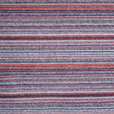 F1462 Newport Fabric: E58, CRYPTON HOME, CRYPTON FINISH, PERFORMANCE FABRIC, PERFORMANCE FABRICS, STAIN RESISTANT, EASY TO CLEAN,CHUNKY, LIGHT BLUE, DARK BLUE, RED, STRIPES, CHUNKY WOVEN, CHUNKY