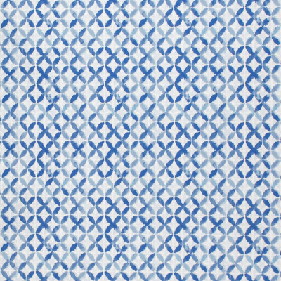 F1495 Indigo Fabric: E58, CRYPTON HOME, CRYPTON FINISH, PERFORMANCE FABRIC, PERFORMANCE FABRICS, STAIN RESISTANT, EASY TO CLEAN, CONTEMPORARY, BLUE, LIGHT BLUE, MODERN, CIRCULAR, GEOMETRIC, PRINT