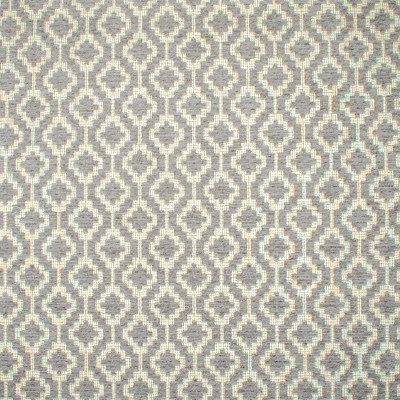 F1561 Smoke Fabric: E60, NEUTRAL AND GRAY, GRAY AND NEUTRAL, GRAY CHENILLE PATTERN, NEUTRAL CHENILLE PATTERN, GEOMETRIC PATTERN, GRAY GEOMETRIC PATTERN, NEUTRAL GEOMETRIC PATTERN