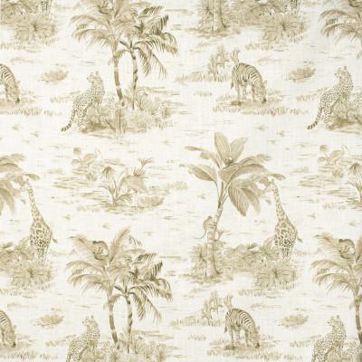 F1613 Wheat Fabric: E61,NEUTRAL ANIMAL, ANIMAL NEUTRAL PRINT, ANIMAL PRINT, ANIMAL PATTERN, ZOO ANIMAL PRINT, ZEBRA PRINT, ZEBRA PATTERN, NEUTRAL ZEBRA