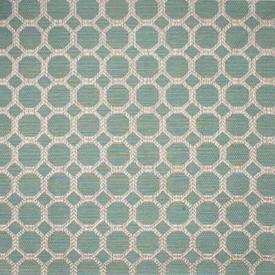 F1670 Bahama Fabric: E62, CIRCLES, GEOMETRIC, GREEN GEOMETRIC, GREEN CIRCLES, TEAL CIRCLES, TEAL GEOMETRIC, NEUTRAL AND COLOR, NEUTRAL AND TEAL, NEUTRAL AND GREEN, TEXTURE, MIXED GEOMETRIC, CHAIR, CHAIR PATTERN, MEDIUM PATTERN, MEDIUM WOVEN, OCTAGON, DIAMOND GEOMETRIC, GREEN WOVEN