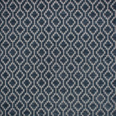 F1679 Indigo Fabric: E62, CHENILLE GEOMETRIC, CHENILLE PATTERN, BLUE CHENILLE, NAVY CHENILLE, SOFT HAND, TEXTURE PATTERN, GEOMETRIC TEXTURE, BLUE TEXTURE, NAVY TEXTURE, BLUE AND NEUTRAL, BLUE AND WHITE