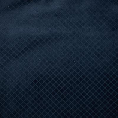 F1680 Navy Fabric: E62, GEOMETRIC VELVET, VELVET PATTERN, BLUE VELVET, NAVY VELVET, SOFT HAND, TEXTURE PATTERN, GEOMETRIC TEXTURE, BLUE TEXTURE, NAVY TEXTURE, NAVY, INDIGO, DARK BLUE, BLUE