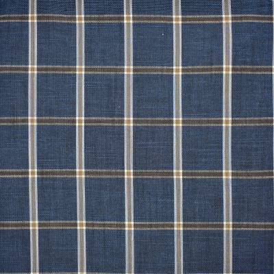F1684 Midnight Fabric: E62,CHECK, PLAID, LARGE CHECK, LARGE PLAID, BLUE AND TAN, BLUE AND BROWN, TRI-COLOR CHECK, TRI-COLOR PLAID, NAVY CHECK, NAVY PLAID, BLUE AND NEUTRAL