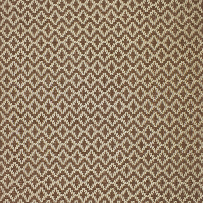 F1925 Teak Fabric: E66, DIAMOND, GEOMETRIC, BROWN AND IVORY, BROWN AND CREAM, BROWN, IVORY, TEXTURE, WOVEN