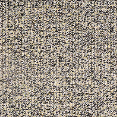 F1950 Granite Fabric: E66, WOVEN, TEXTURE, CHUNKY TEXTURE, MULTI-COLORED TEXTURE, BLACK, BEIGE
