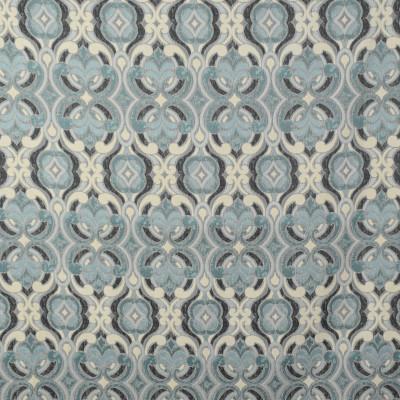F1967 Breeze Fabric: E67,WOVEN PRINT, WOVEN, WOVEN MEDALLION, SPA WOVEN, SPA MEDALLION, BLUE MEDALLION, BLUE WOVEN, POOL WOVEN,
