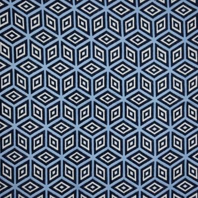 F1996 Indigo Fabric: E67,GEOMETRIC, BLUE GEOMETRIC, INDIGO GEOMETRIC, NAVY GEOMETRIC, INK GEOMTRIC, GEOMETRIC WOVEN, WOVEN
