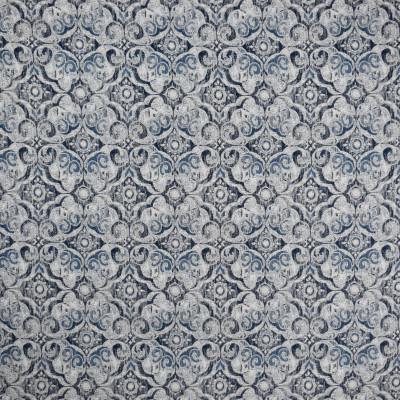F2002 Baltic Fabric: E67,WOVEN, BLUE WOVEN, BLUE MEDALLION, NAVY MEDALLION, BALTIC BLUE, INDIGO, MEDALLION