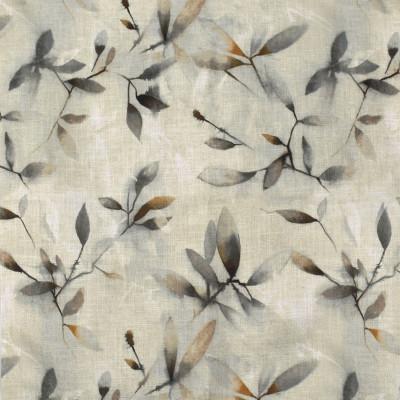 F2163 Dusk Fabric: E68, NEUTRAL, GREY, GREEN, FLORAL, NEUTRAL FLORAL, NEUTRAL FOLIAGE, GREEN FOLIAGE, NEUTRAL PRINT, NEUTRAL FLORAL