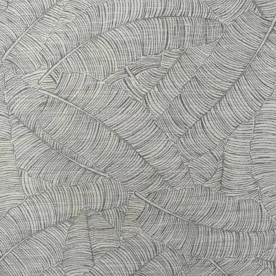 F2183 Fog Fabric: E69, NEUTRAL, TAN, TAN AND GREEN, TAN GREEN, TROPICAL, LEAVES, LEAF