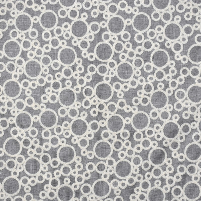 F2202 Smoke Fabric: E69, NEUTRAL, TAN, CREAM, OLIVE GREEN, CIRCLE, CIRCLES, SUZANI, EMBROIDERY, EMBROIDERED CIRCLES, EMBROIDERY CIRCLES, TEXTURED, TEXTURE