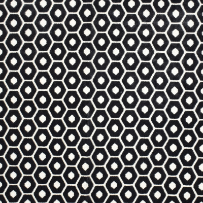 F2236 Coal Fabric: E69, NEUTRAL, GREY, GRAY, GEOMETRIC, VELVET, TEXTURE, TEXTURED, HEXAGON, HEXAGONS