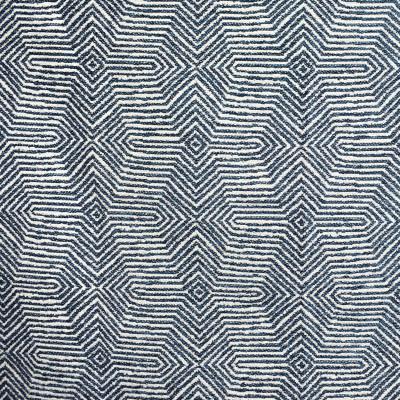 F2251 Prussian Fabric: E70, GEOMETRIC, CONTEMPORARY, BLUE, TEAL, CHENILLE, GEOMETRIC CHENILLE, CONTEMPORARY GEOMETRIC, TEAL CHENILLE, BLUE CHENILLE
