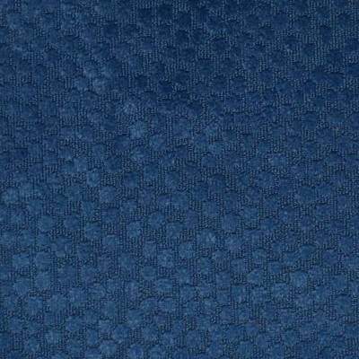 F2287 Marine Fabric: E70, BLUE VELVET DOT, MARINE BLUE VELVET DOT, OCEAN BLUE VELVET DOT, COBALT BLUE VELVET DOT